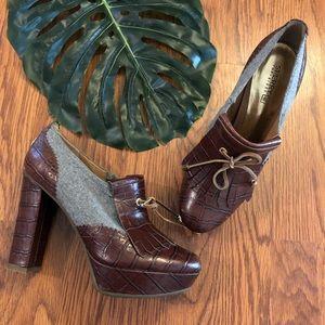 Sperry | McKenna Platform Oxford Heels